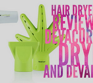 Hair Dryer Review: DevaCurl Dryer and Devafuser