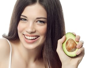 Avocado can be used to make a hair mask - perfect for treating very dry hair